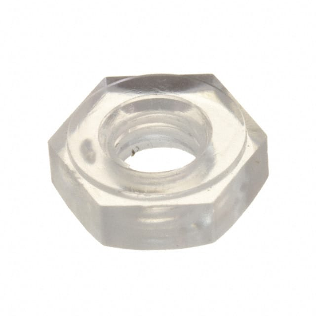 【0401032HNPC】HEX NUT 10-32 THREAD .135 HEIGHT