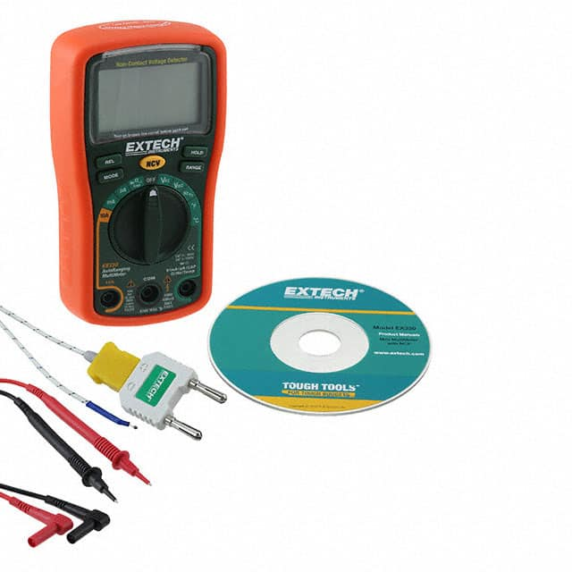 【EX330】MULTIMETER W/NCV, 4000 CT AUTORA