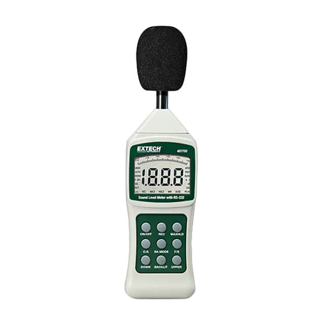 【407750】SOUND LEVEL METER, DIGITAL W/ RS