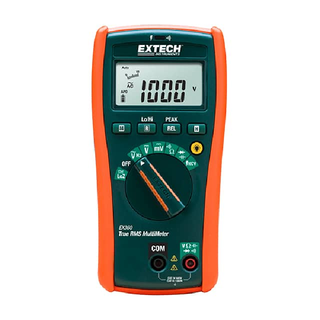 【EX360】MULTIMETER,TRUE RMS W/NCV CAT IV