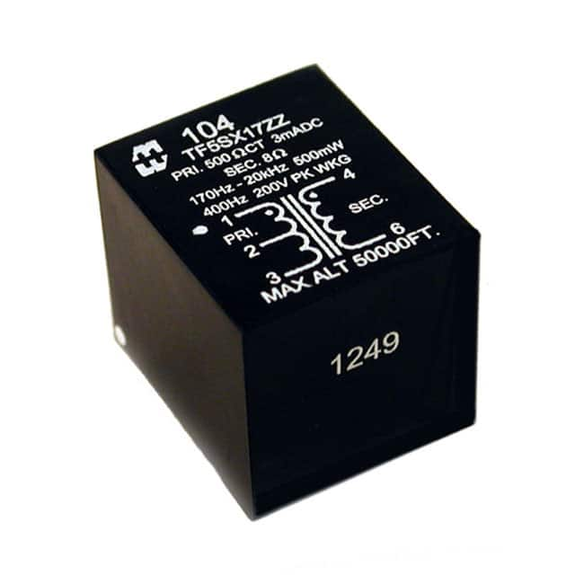 【104S】TRANSFORMER AUDIO 600CT/150CT
