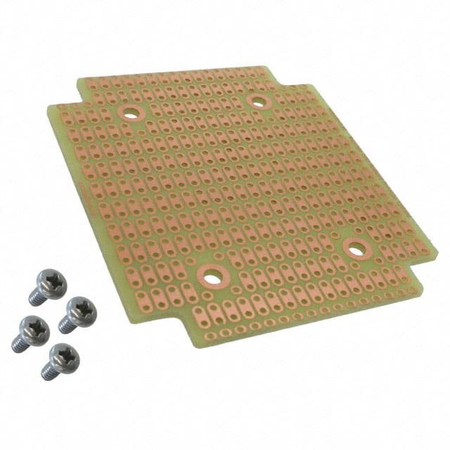 【1593QPCB】BREADBRD DRILLED COPPER CLAD PTH