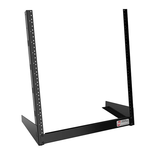 "【HDR12UBK】DESK KNOCKDOWN RACK 23X20X11.5""""D"