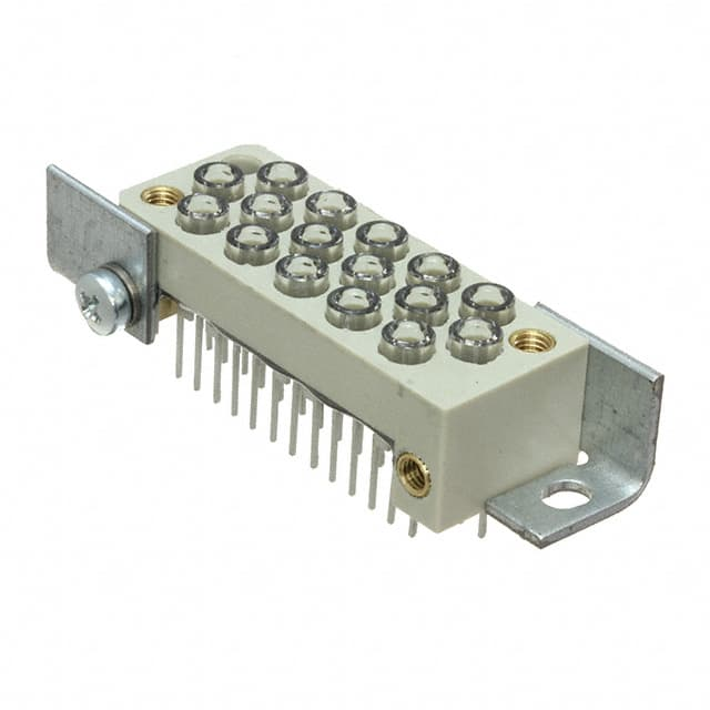【20400163821】RECEPTACLE 16-WAY, 8X LED 660NM