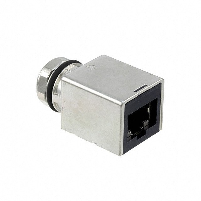 【21033812800】ADAPTER M12 RJ45 CAT 6A STRAIGHT