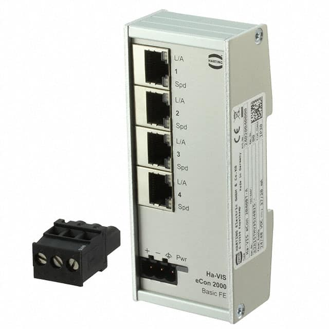 【24020040000】NETWORK SWITCH-UNMANAGED 4 PORT