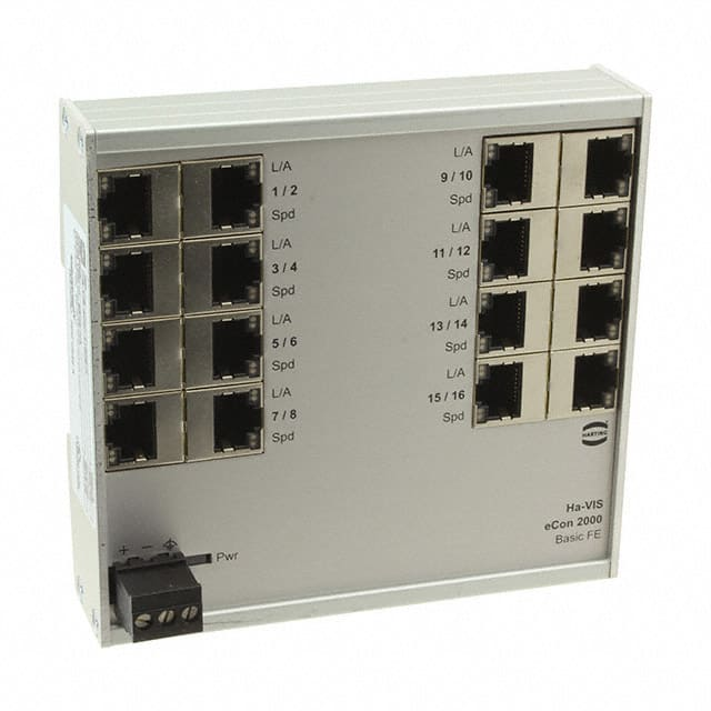 【24024160010】NETWORK SWITCH-UNMANAGED 16 PORT