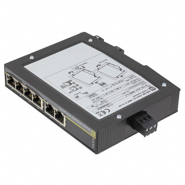 【24030060030】NETWORK SWITCH-UNMANAGED 6 PORT