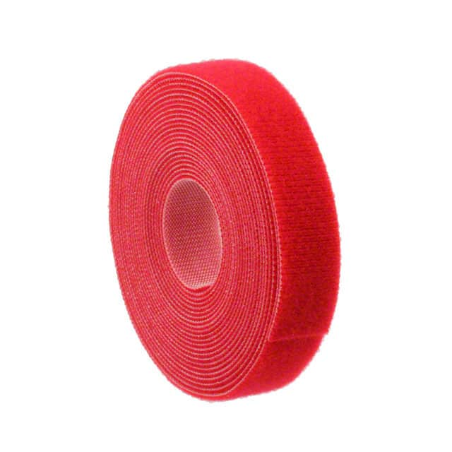 "【GT.75X1802】GRIP TIE ROLL 180X.75"""" RED"
