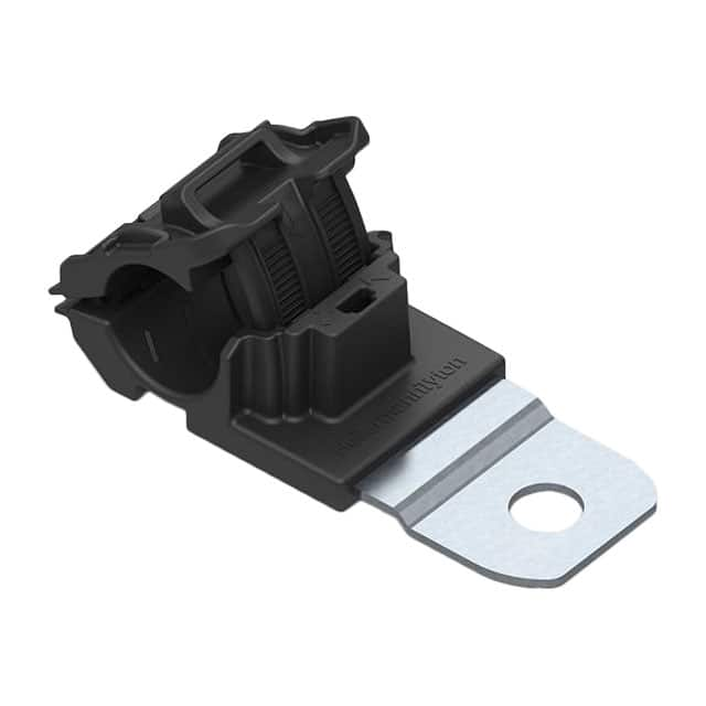 【151-01440】CBL CLAMP P-TYPE BLACK FASTENER