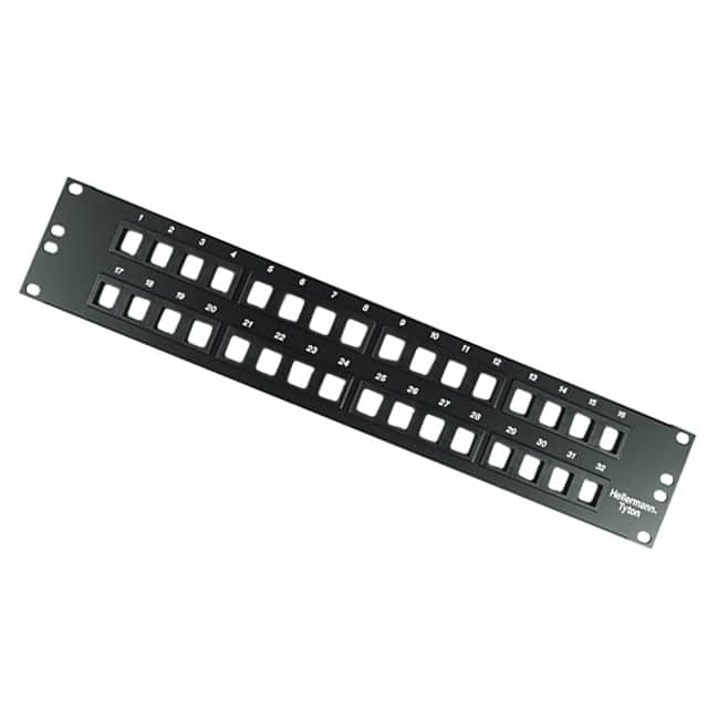 【P108-32-MOD】32PORT BLNK MOD PATCH PANEL