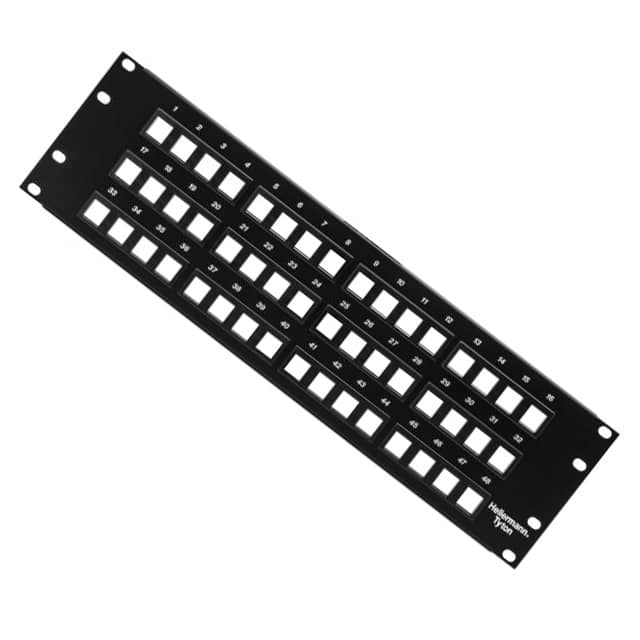 【P108-48-MOD】48PORT BLNK MOD PATCH PANEL