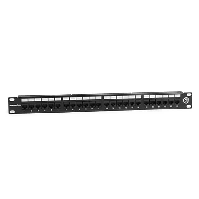 【PP110C5E24】CAT 5E UNIV 24 PORT PATCH PANEL
