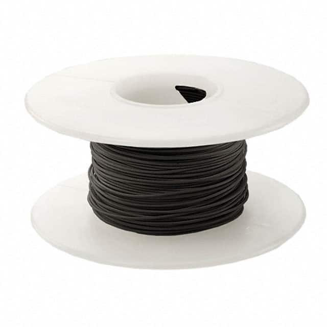 WIRE 24 AWG BLACK 100 FT CSW【KSW24BLK-0100】
