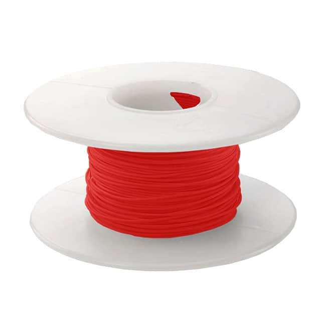 【KSW24R-0100】WIRE 24 AWG RED 100 FT CSW