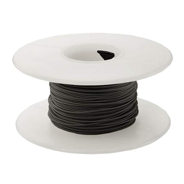 【KSW26BLK-0100】WIRE 26AWG BLACK 100 FT CSW