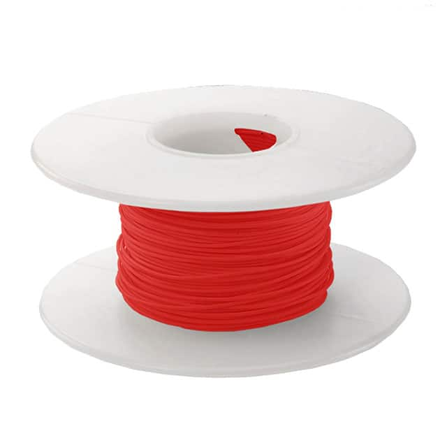 【KSW26R-0100】WIRE 26AWG RED 100 FT CSW