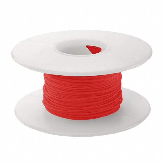 【KSW28R-0100】WIRE 28AWG RED 100 FT CSW