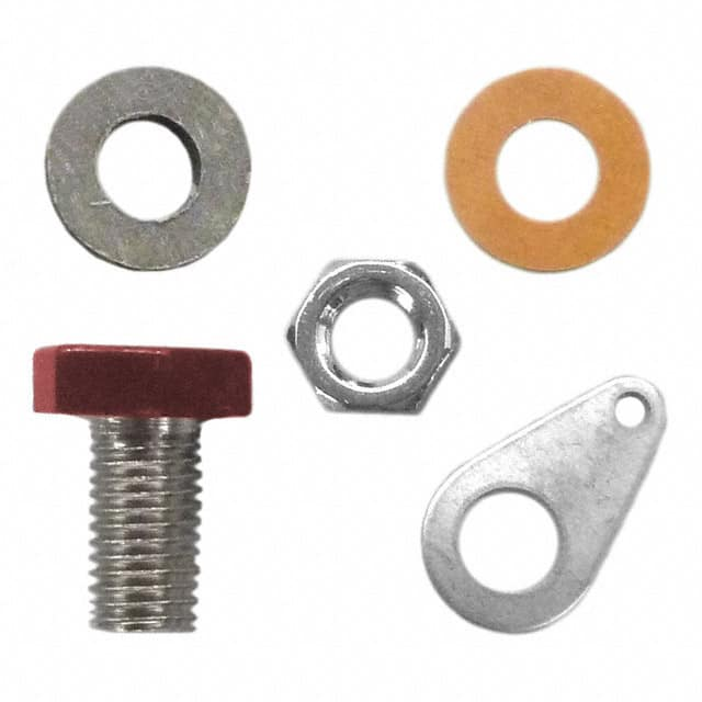 【6093】CONN BANANA JACK SOLDER LUG RED