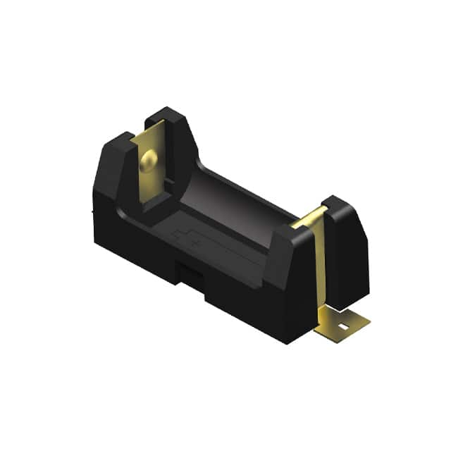 BATTERY HOLDER CR2 SMD TAB【1010】