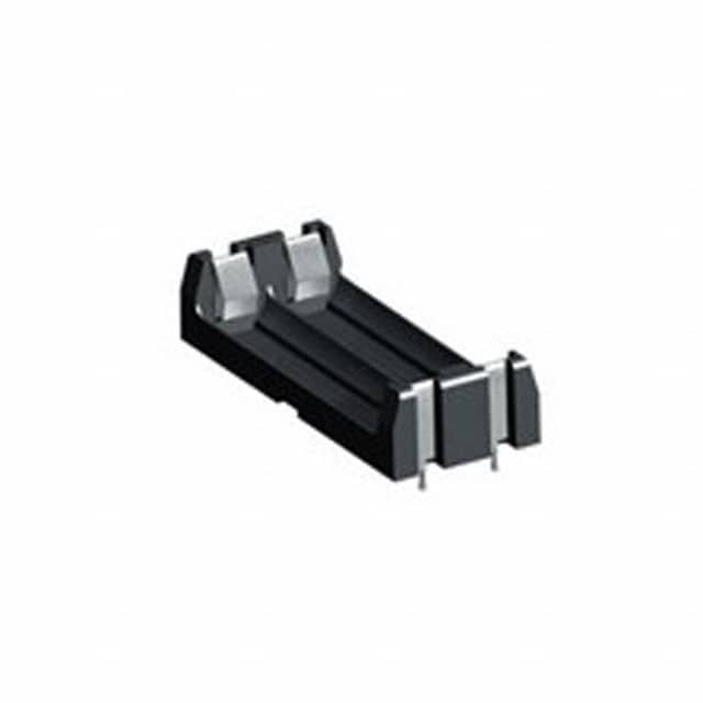 【1013】BATTERY HOLDER AA 2 CELL PC PIN