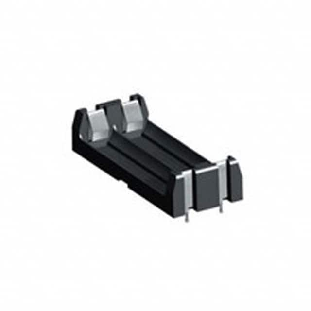 【1023】BATTERY HOLDER AAA 2 CELL PC PIN