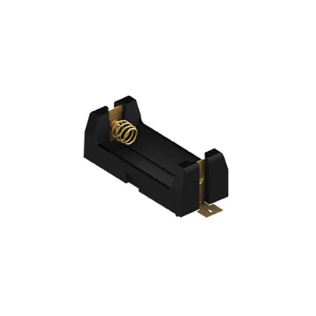 【1128】BATTERY HOLDER CR123A SMD TAB