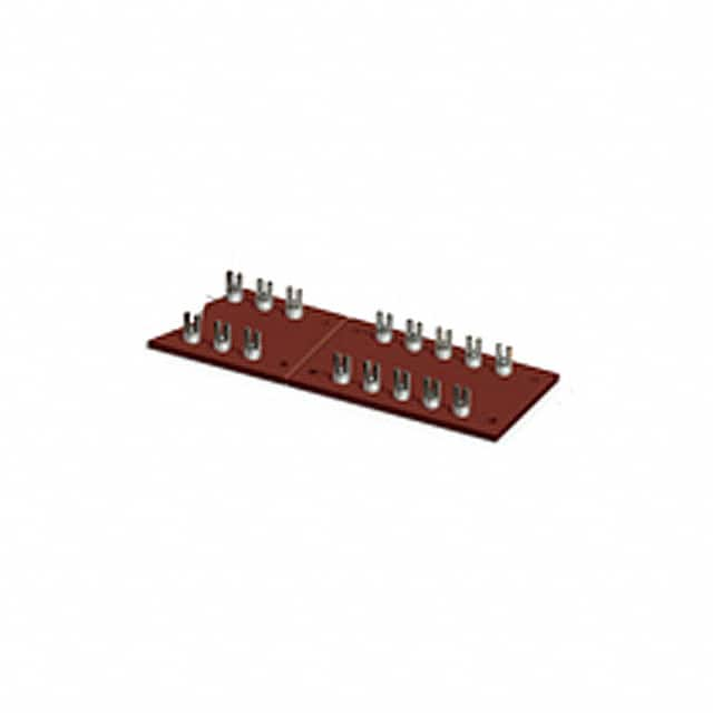 "【15026】TURRET BOARD 50POS 0.218"""" FORK"