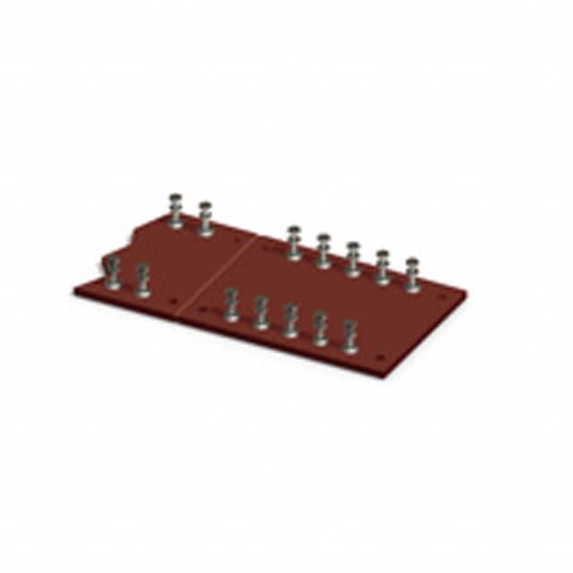 "【15119】TURRET BOARD 52POS 0.375"""" SINGLE"
