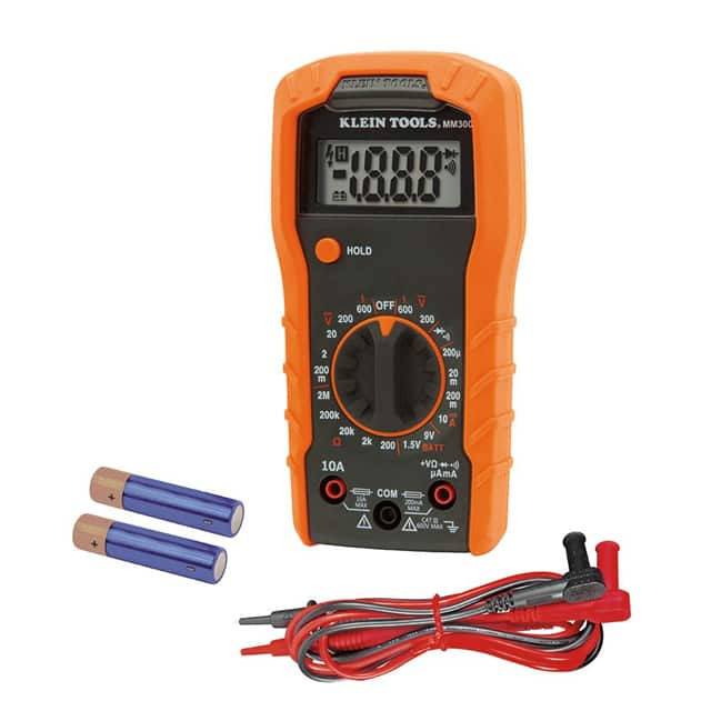 【MM300】DIGITAL MULTIMETER, MANUAL-RANGI