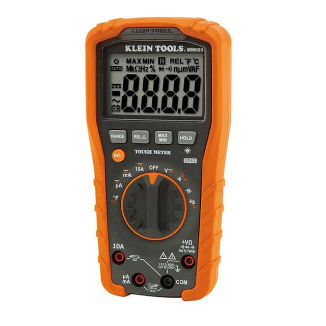 【MM600】DIGITAL MULTIMETER, AUTO-RANGING