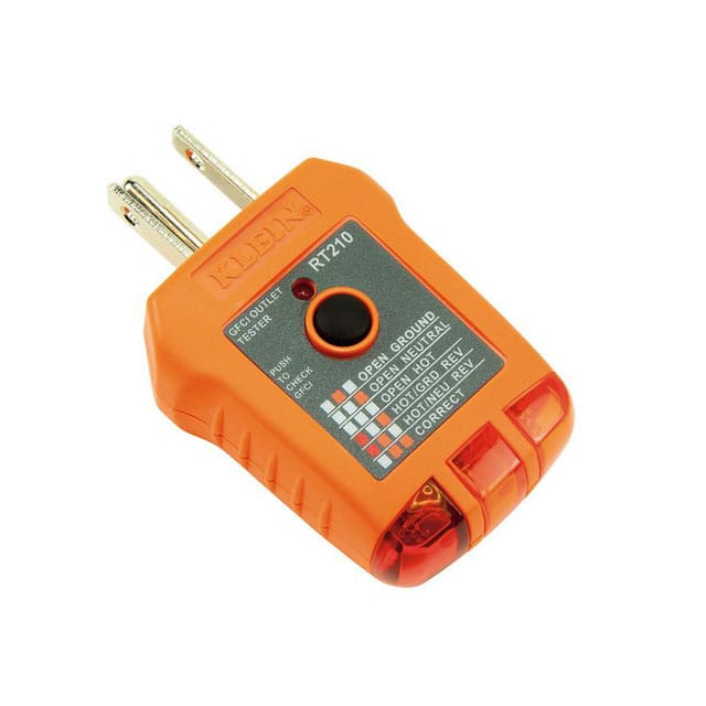 【RT210】GFCI RECEPTACLE TESTER