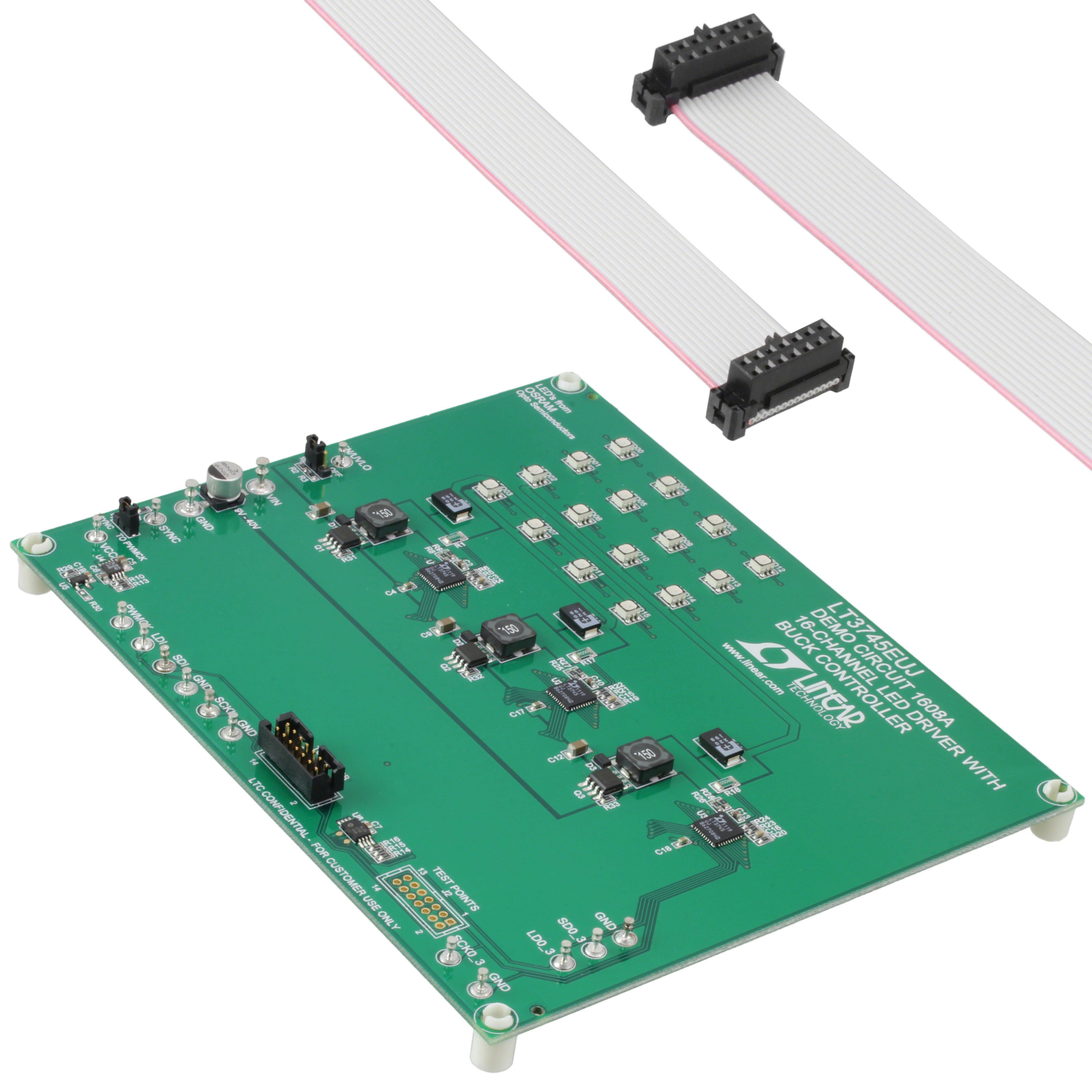 【DC1608A】BOARD EVAL FOR LT3745