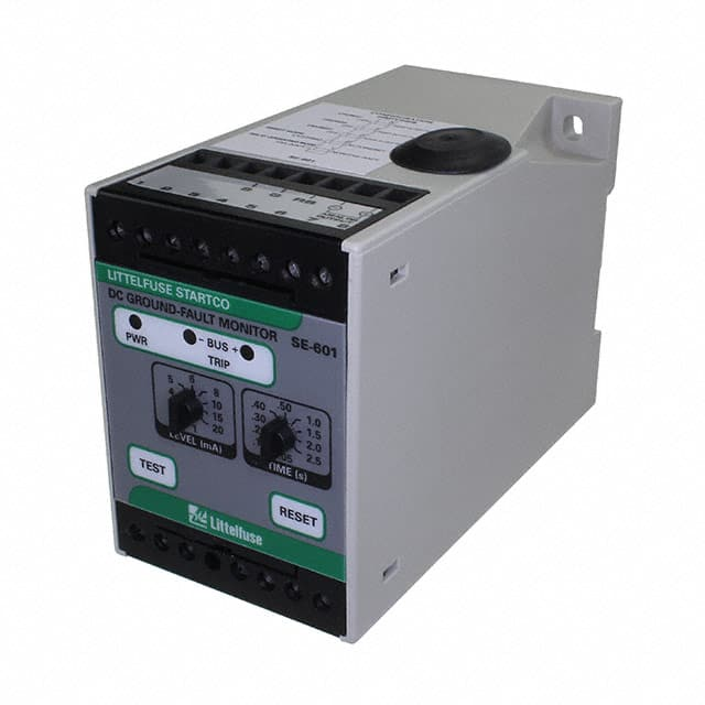 【SE-601-0D】DC GROUND FAULT RELAY 9-36 VDC