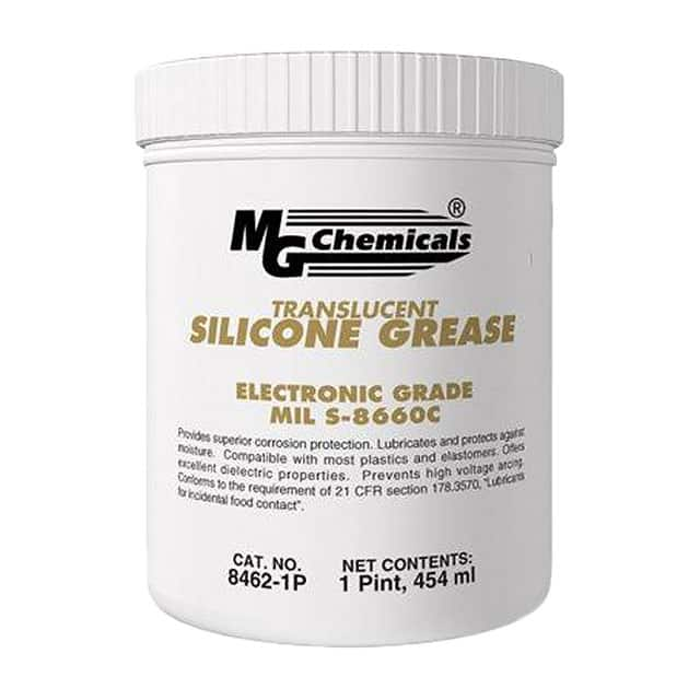 【8462-1P】LUB DIELECT SIL GREASE TUB 454G