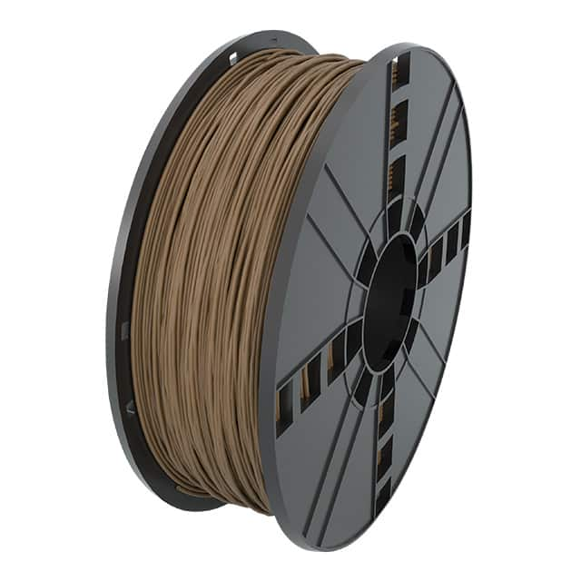 "【ABS17BR1】FILAMENT BROWN ABS 0.07"""" 1KG"