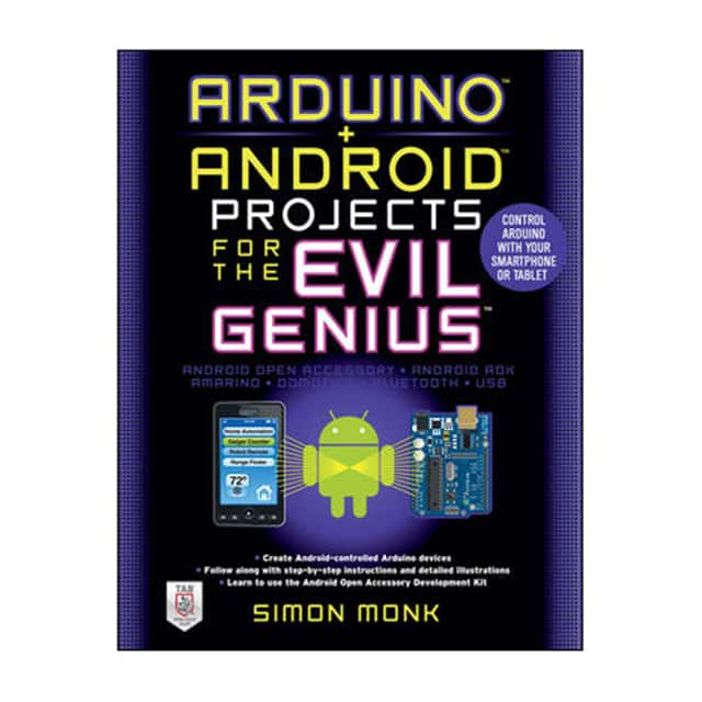 【007177596X】BOOK: ARDUINO + ANDROID PROJECTS