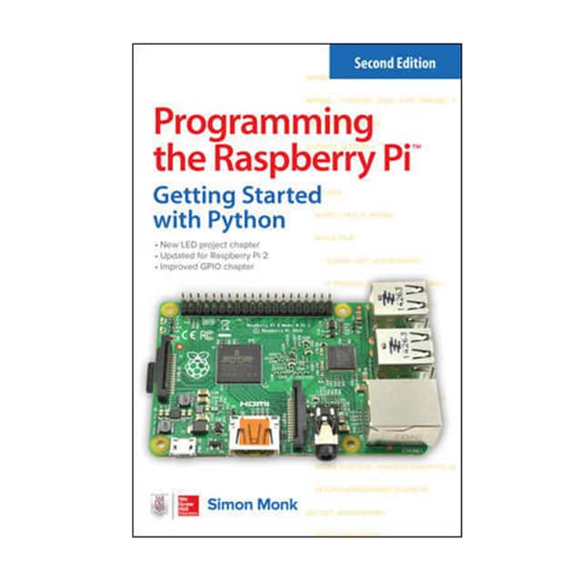 【1259587401】BOOK: PROGRAMMING RASPBERRY PI