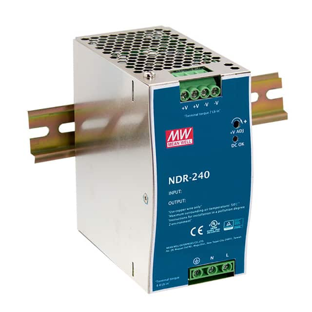Mean Well UHP-500-24 24V 21A 502W Slim Type with LED PFC Switching Supply