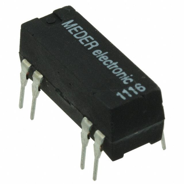 【DIP12-1A72-12D】RELAY REED SPST 1A 12V