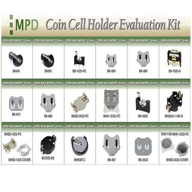 【BK-DEVKIT-PC】COIN CELL EVAL KIT PC PINS
