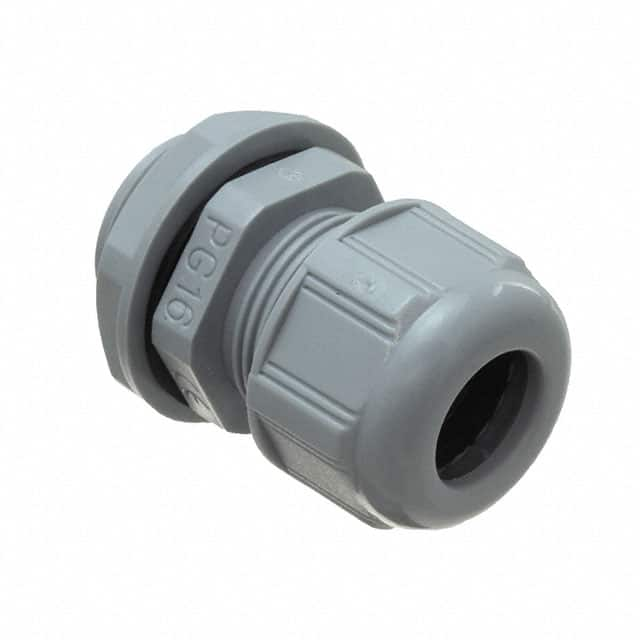 PLAST.CABLE GLAND WITH NUT END G【0936000412】