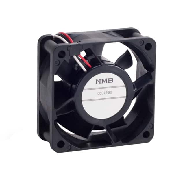 【06025SS-12N-AT-D0】FAN AXIAL 60X25MM 12VDC WIRE