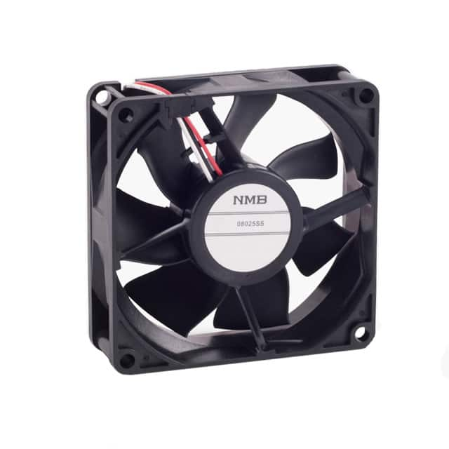 【08025SS-12N-AT-D0】FAN AXIAL 80X25MM 12VDC WIRE