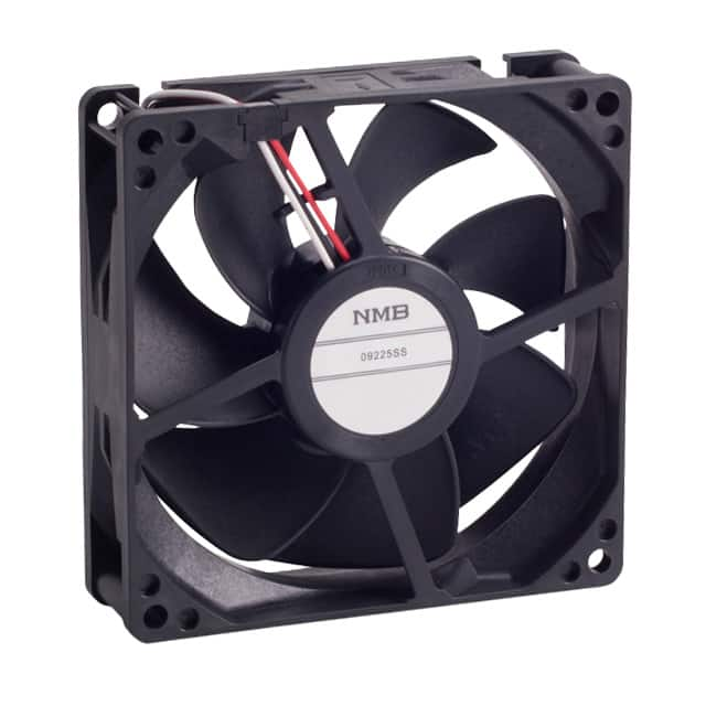 【09225SS-12Q-AT-D0】FAN AXIAL 92X25MM 12VDC WIRE