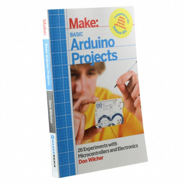 【9781449360665】MAKE: BASIC ARDUINO PROJECTS
