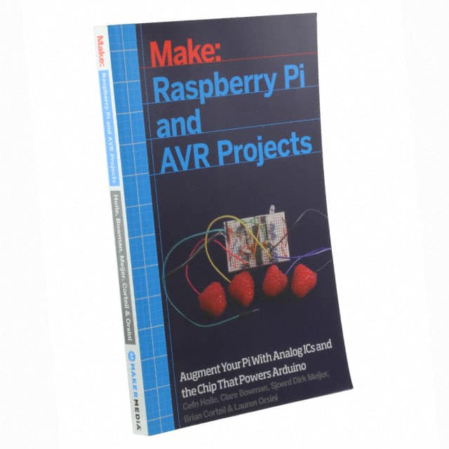 【9781457186240】RASPBERRY PI AND AVR PROJECTS