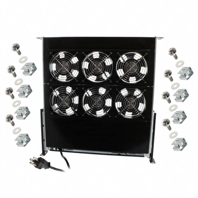 6 FAN TRAY 230V 660CFM【OA602】