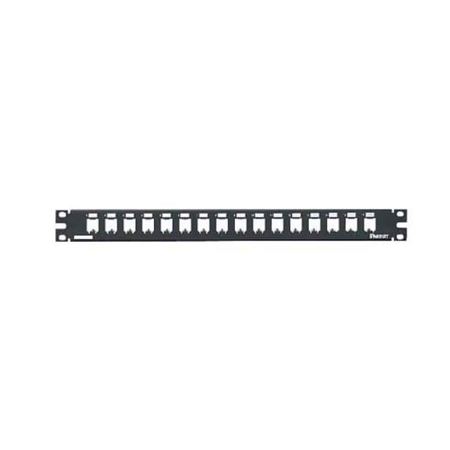 【CP16BLY】PATCH PANEL, 16 PORT, ALL METAL,