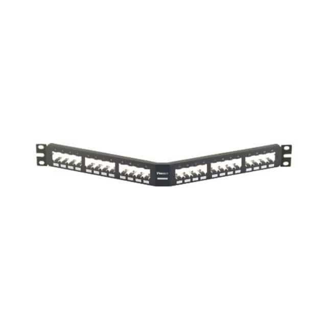 【CPA24BLY】PATCH PANEL, 24 PORT, ANGLED, AL